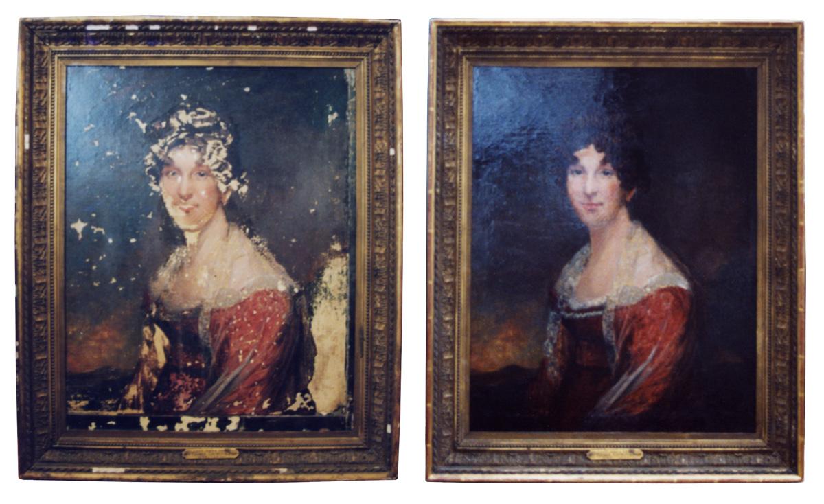 Painting restoration artist anna harding restoration of valuable artwork solutioingenieria Image collections