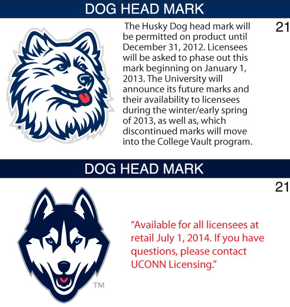 uconn logo then and now