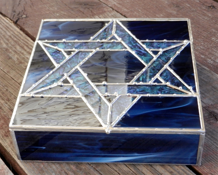 stained glass box anna harding