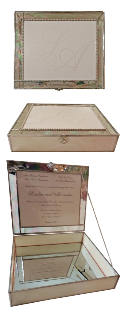 wedding gift memory box by anna