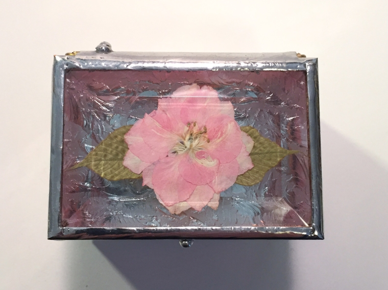 small jewelry or ring box