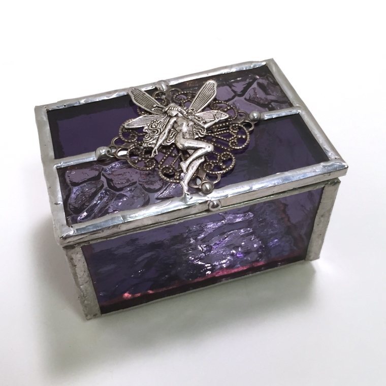 purple fairy tiny box